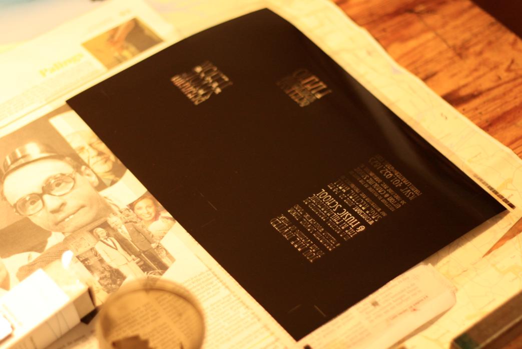 Passepartout Press: What is letterpress?