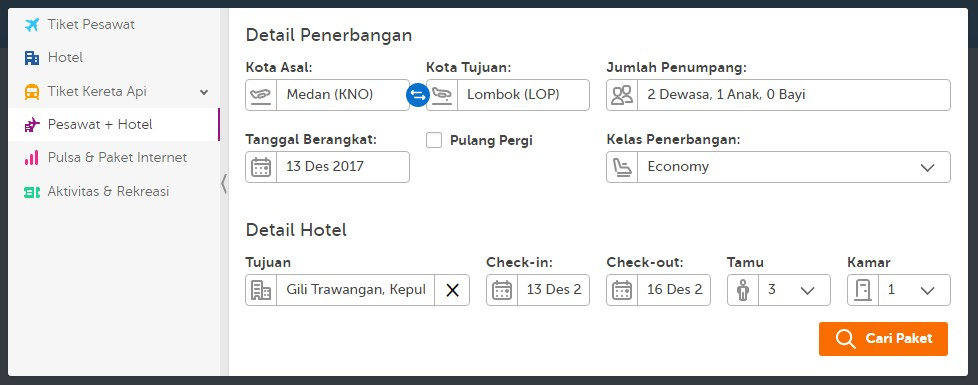 Tiket Pesawat dan Booking Hotel Murah di Traveloka