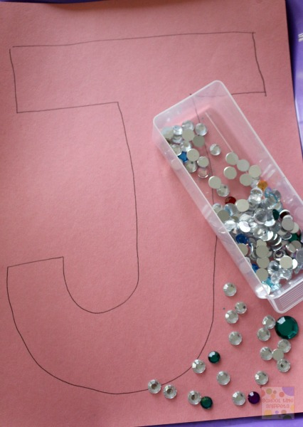 Letter J preschool craft