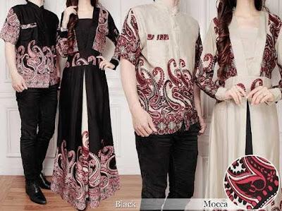 gamis batik moderen pria wanita