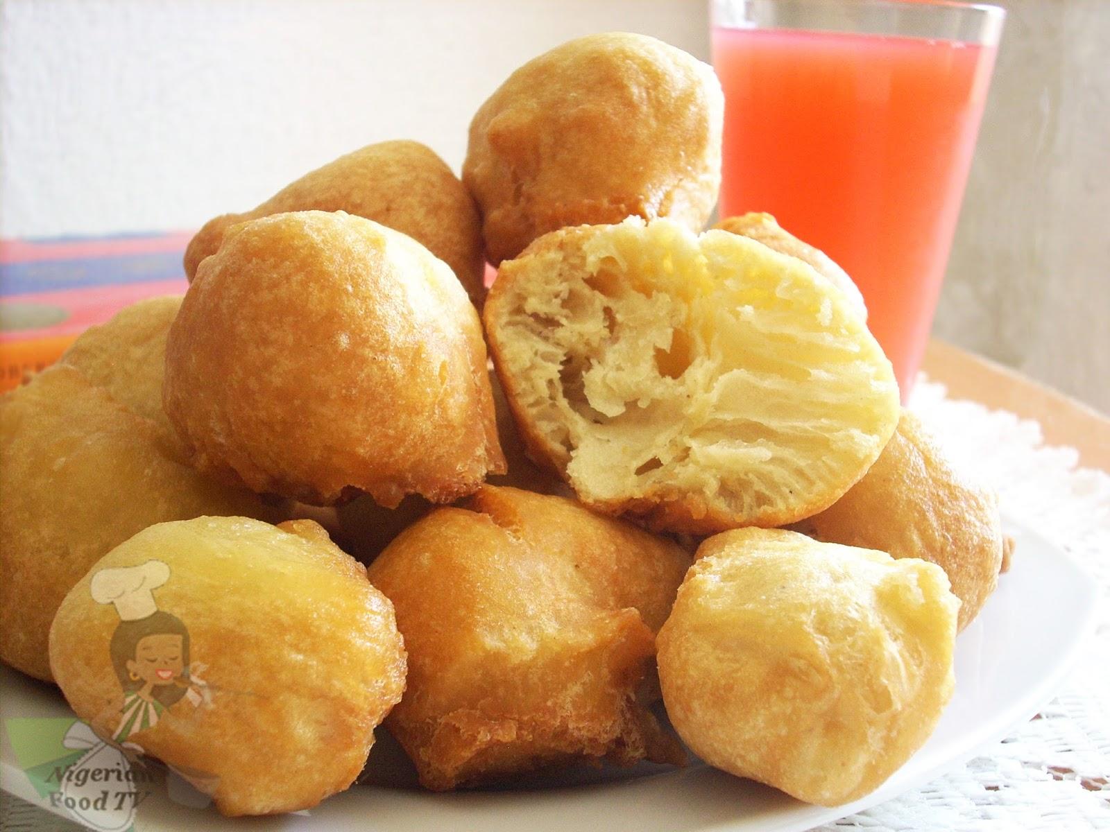 How to Make Nigerian Buns, Nigerian Buns