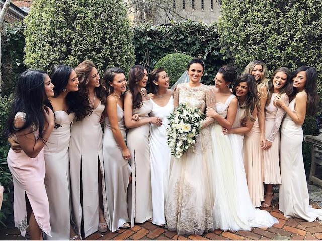 It Girl Got Married The Wedding Of Georgina Wilson Glitz