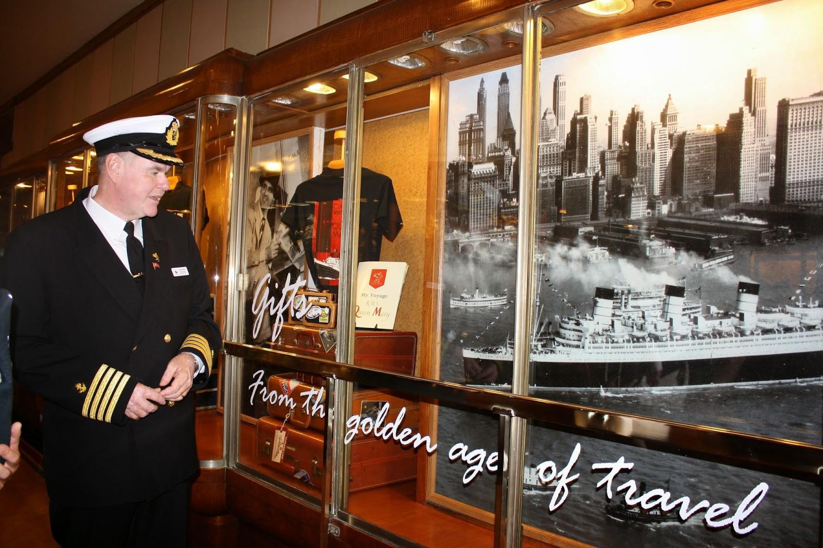 Queen Mary Ship Interior