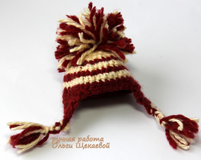 шапка, амигуруми, крючком