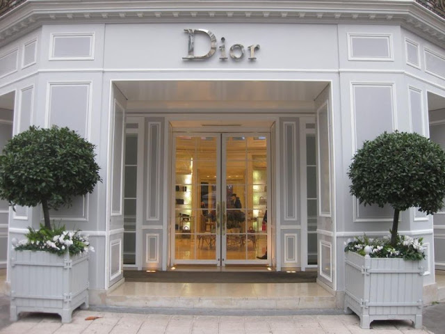 Loja Dior na Champs Élysées