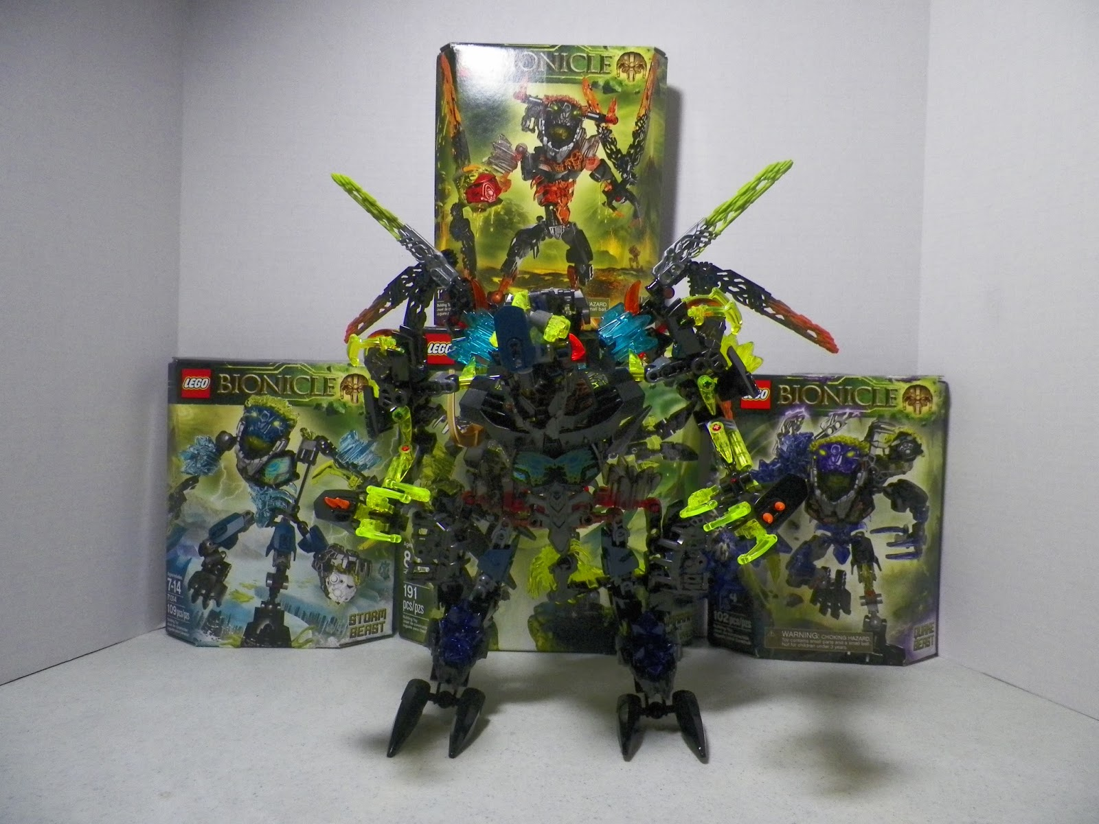 Lego Bionicle Summer 2015 Official Set Images G2 Review Skull Scorpio 70794 Monarth Sadrak King Of Beasts