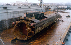 Kursk Submarine Wreck