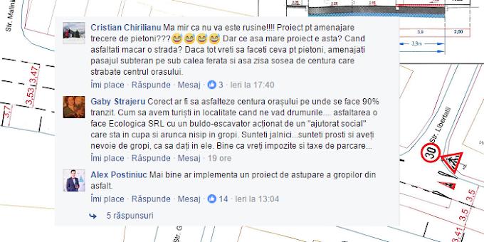 Critici la adresa administrației locale pe rețelele de socializare odată cu anunțul proiectului de reglementare a circulației