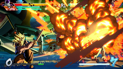 "Primera imagen ingame de Trunks en ""Dragon Ball FighterZ""."