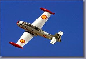 Avión Hispano Aviación HA-200 -Saeta-