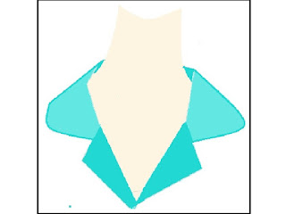 CONVERTIBLE COLLAR:- designed to be worn with the button on neck. Possible to wear it both way either open or fastened closed.