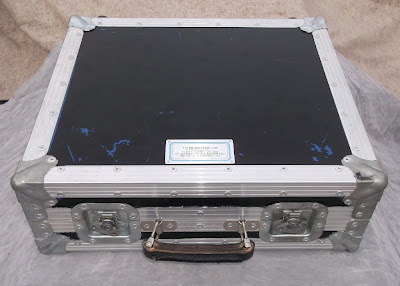 Image of a small flight case top view