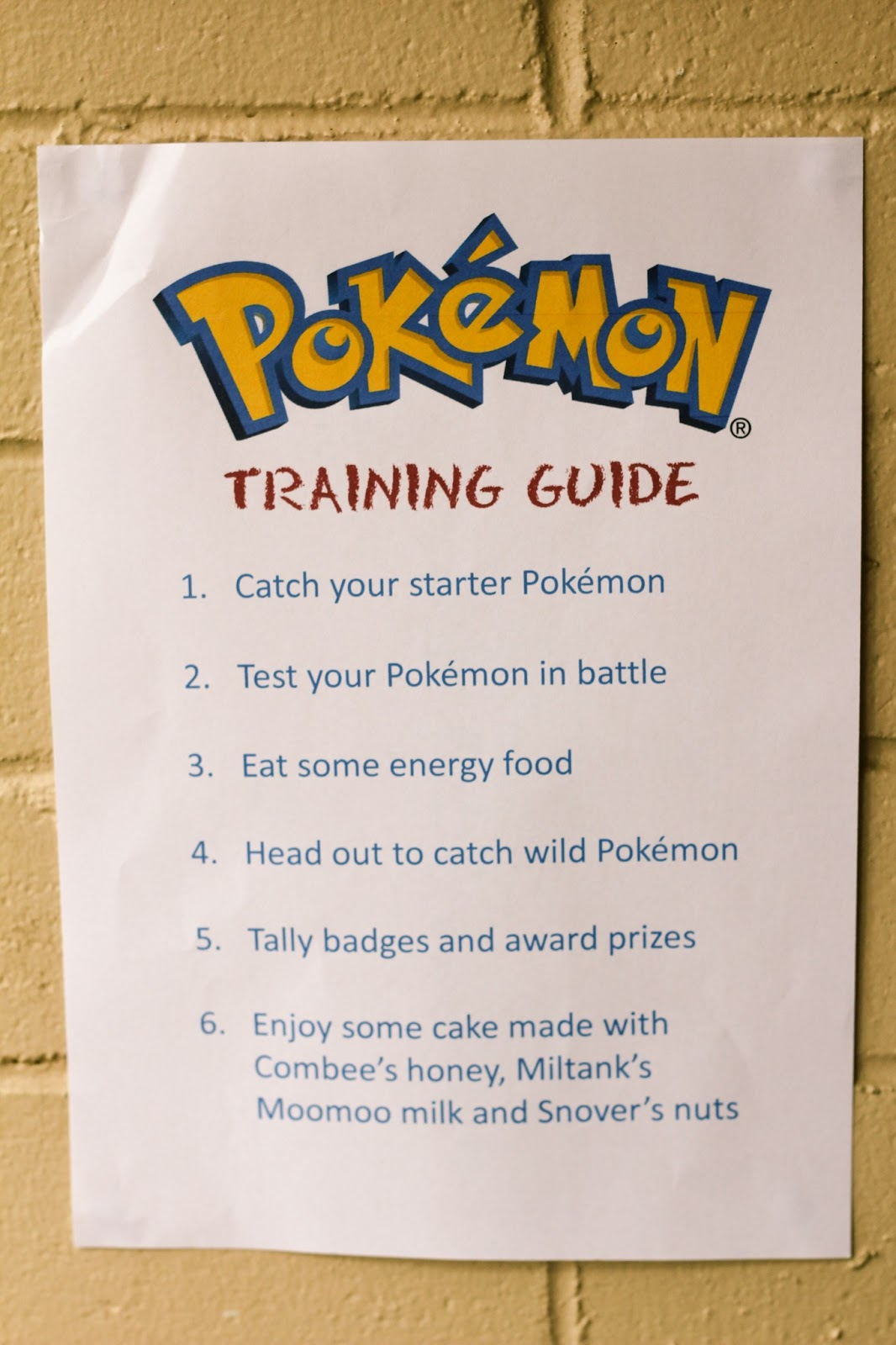 How To Throw An Awesome Pokemon Party