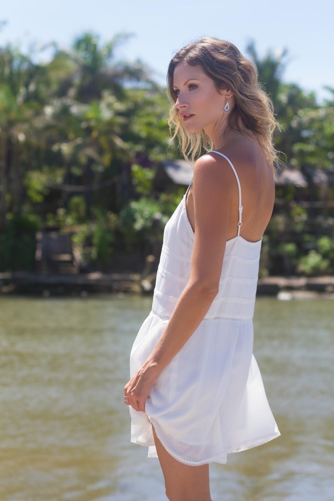 Summer Essentials -- The Little White Dress