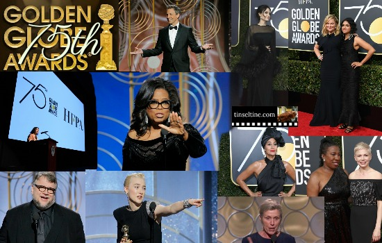 A Golden Globes RECAP 2018. 75th Annual Golden Globe Awards, Hollywood Foreign Press Association