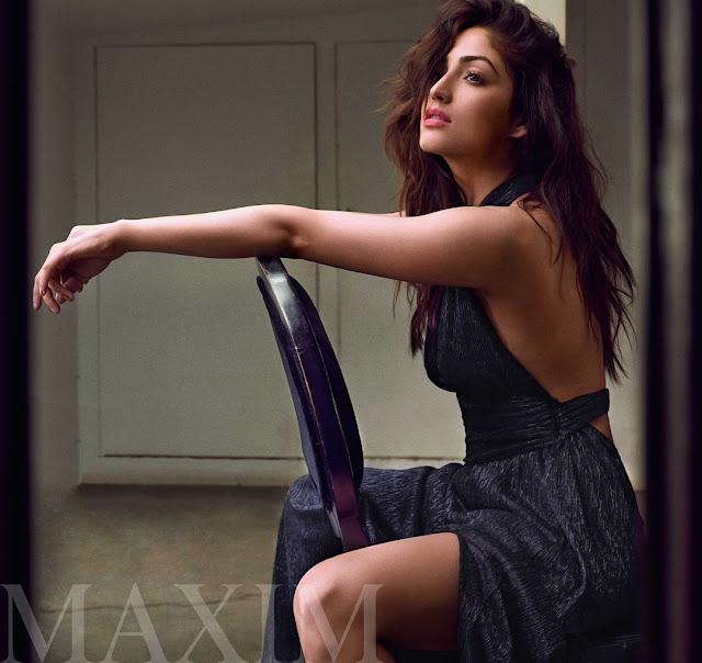 Actress Yami Gautam poses for Maxim Hot Photoshoot