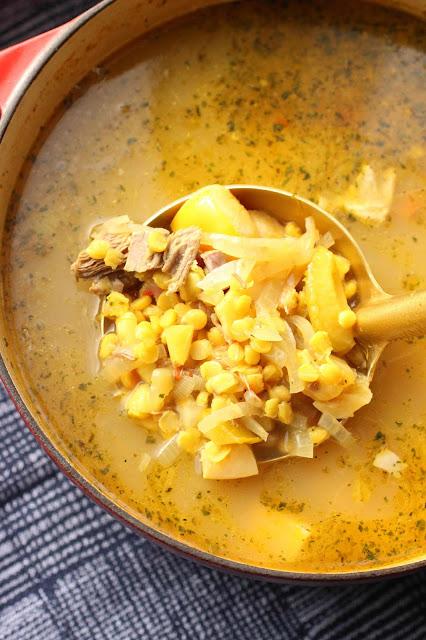 soupe azerie agneau coings