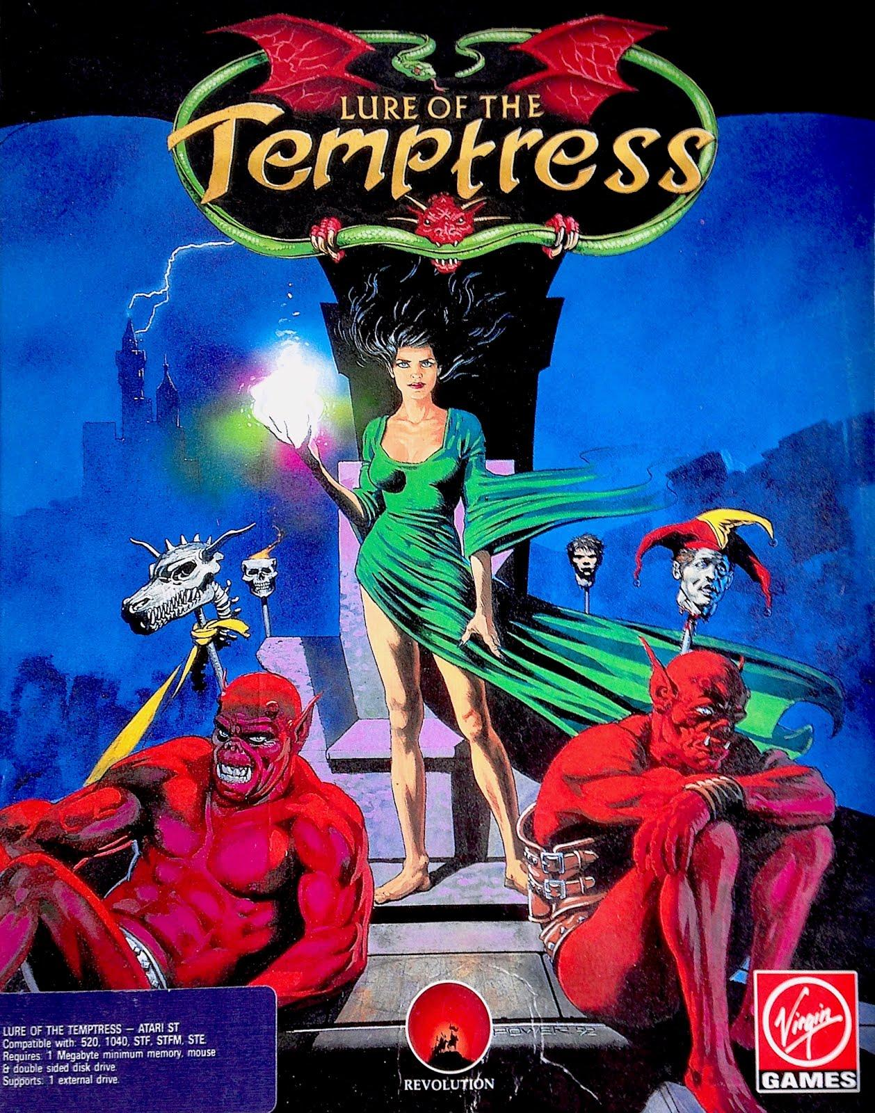 The Adventure Gamer: Game 88: Lure of the Temptress (1992