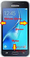 Download mode Samsung GALAXY J1 (2016) SM-J120F