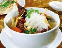 Món ăn tổ yến sào Bồ Câu