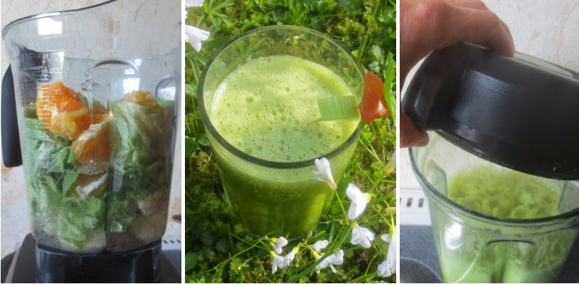 Grüne Smoothies - Collage