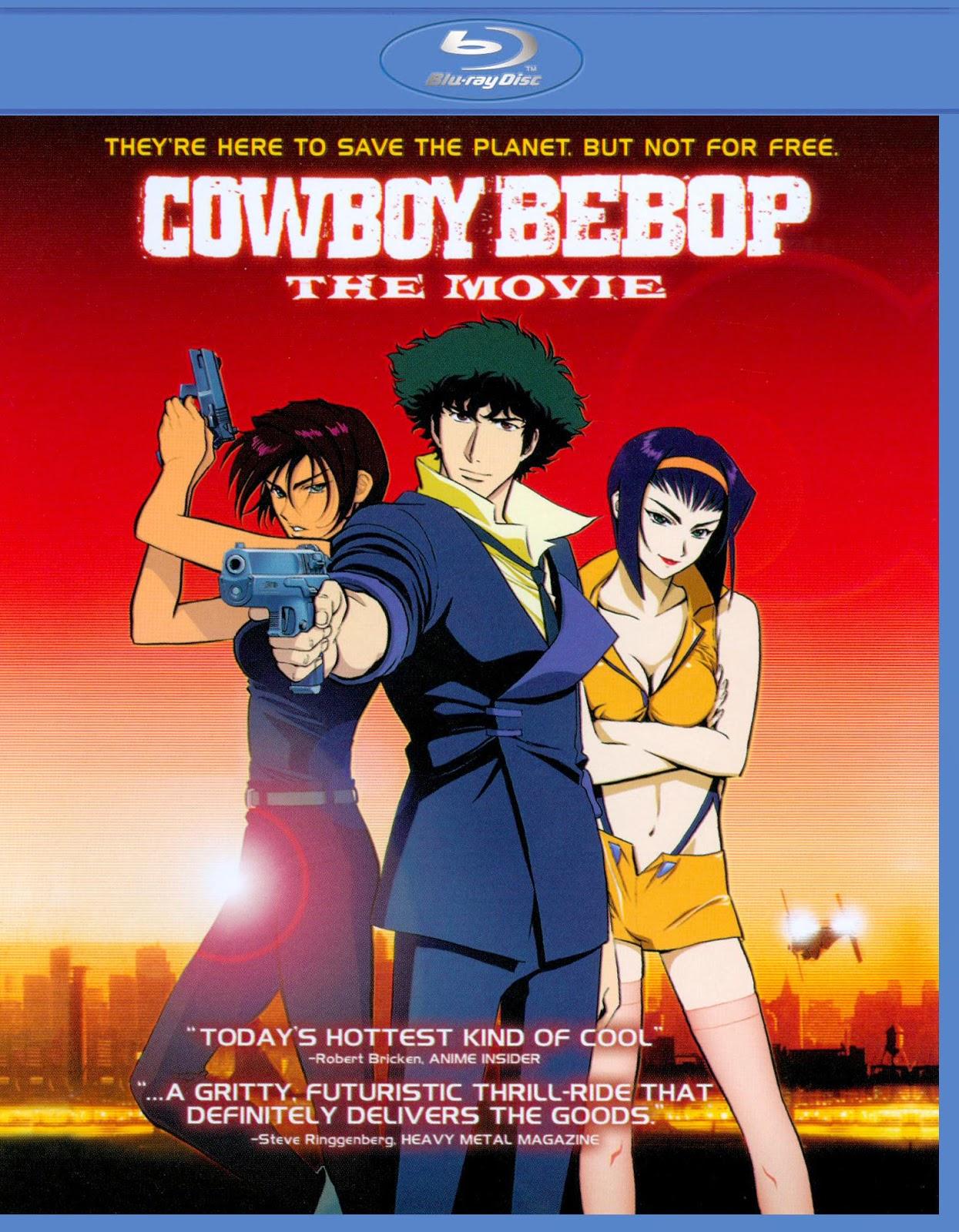 Cover Caratula Cowboy Bebop La Pelicula Bluray