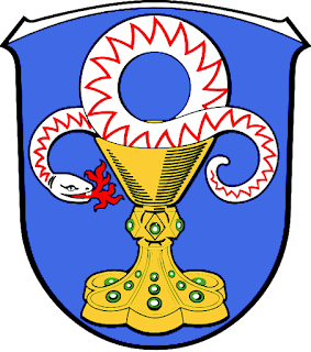 Ambiserpent du calice  Wappen_Elz_Westerwald