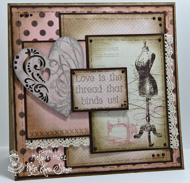 """Paper Blessings: """"Sew"""" Excited To Kick Off The February"""