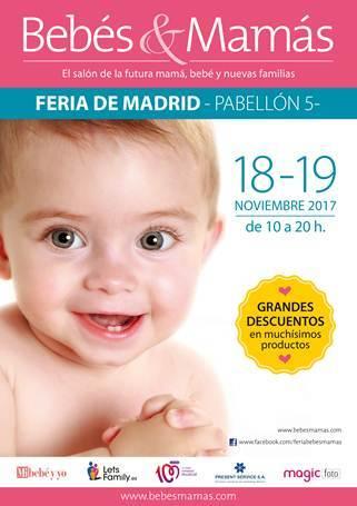 El salón Bebés&Mamás llega a Madrid