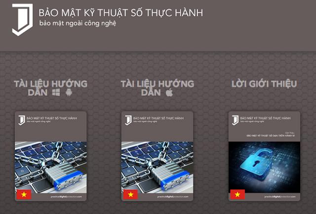 Cẩm nang Bảo mật Kỹ thuật số Thực hành phiên bản tiếng Việt ra mắt