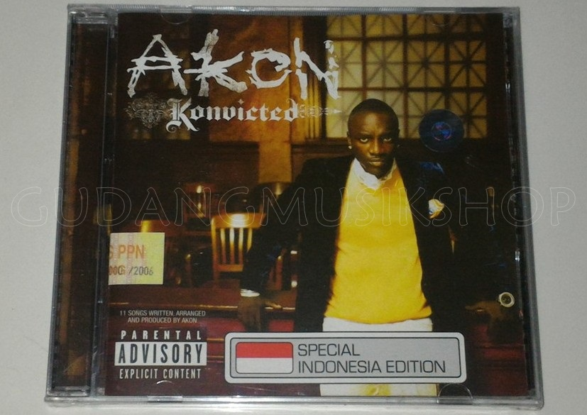 CD Akon - Konvicted - GUDANG MUSIK SHOP