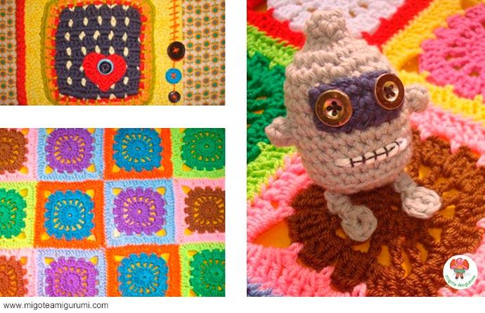 granny squares tejidos en ganchillo - migoteamigurumi.com