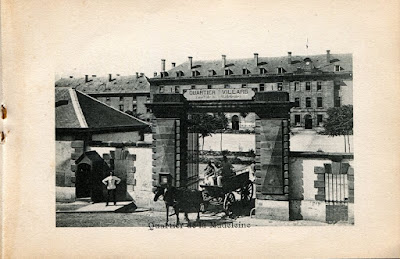 Photo de Moulins, Allier. quartier militaire de la Madeleine