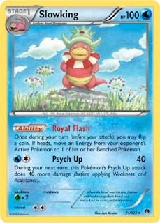 Slowking BREAKpoint Pokemon Card