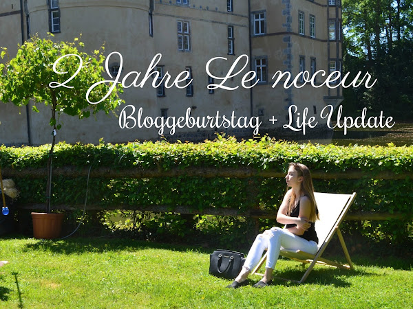 2 Jahre Le Noceur || Bloggeburtstag + Life Update
