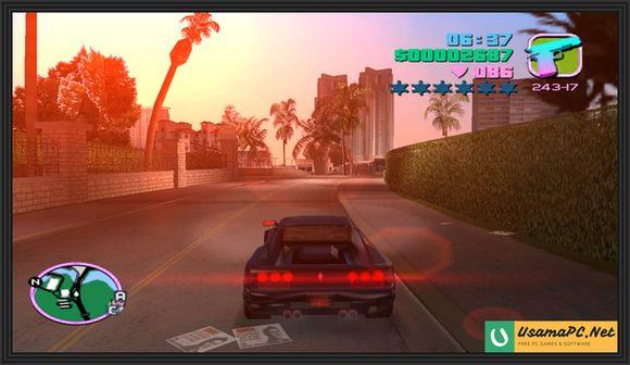 GTA Vice City Gameplay Screenshot