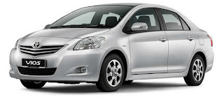 Toyota Vios for Hire