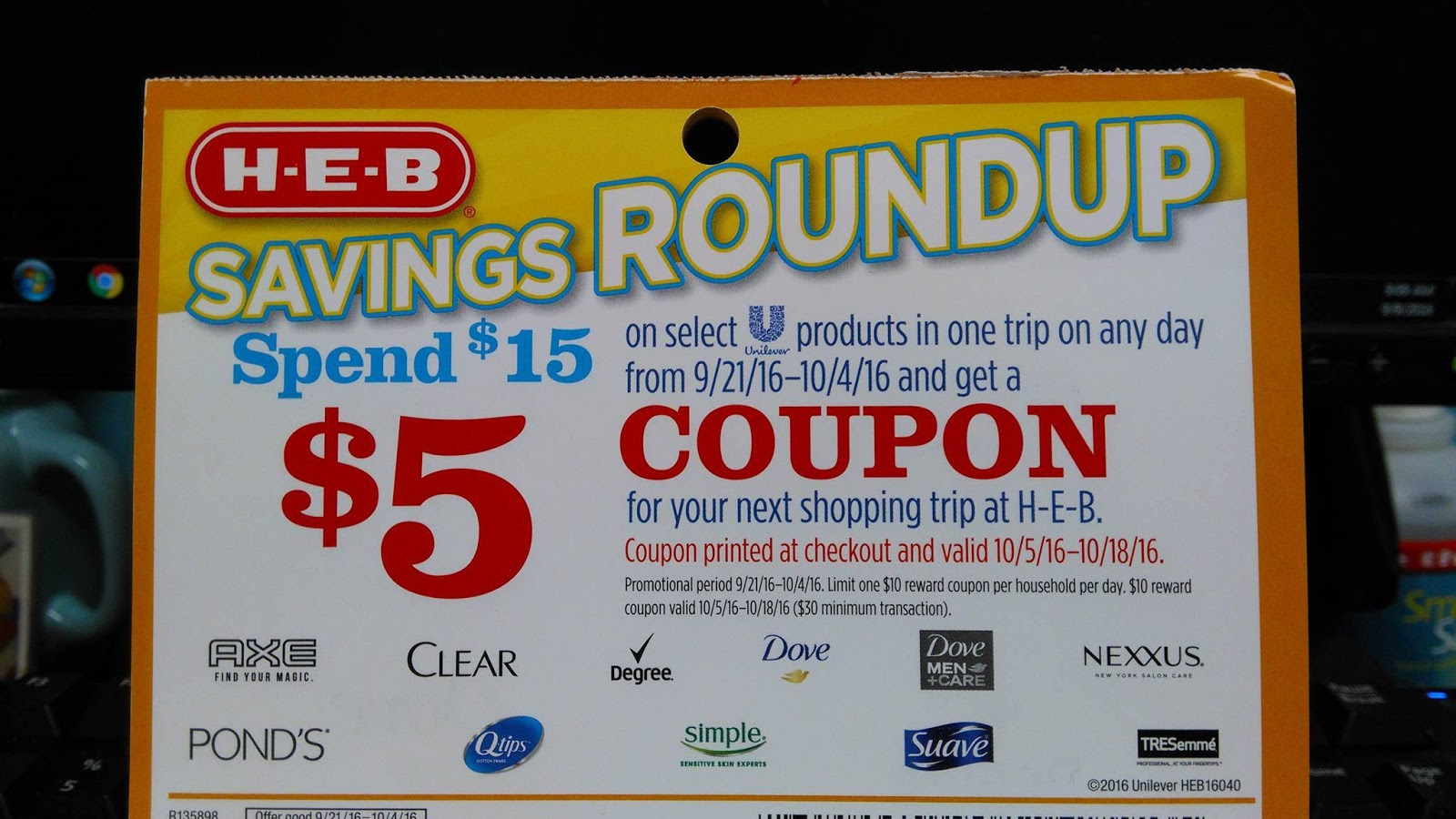 heb coupon policy