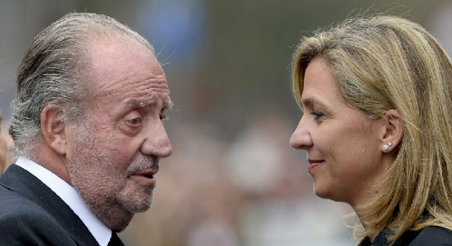 Juan Carlos y Cristina