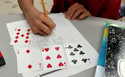 Upper elementary math activities.