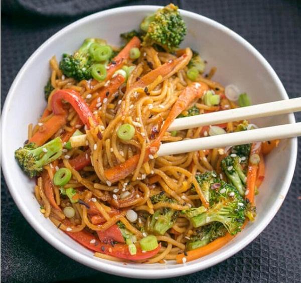 Garlic Sesame Noodles