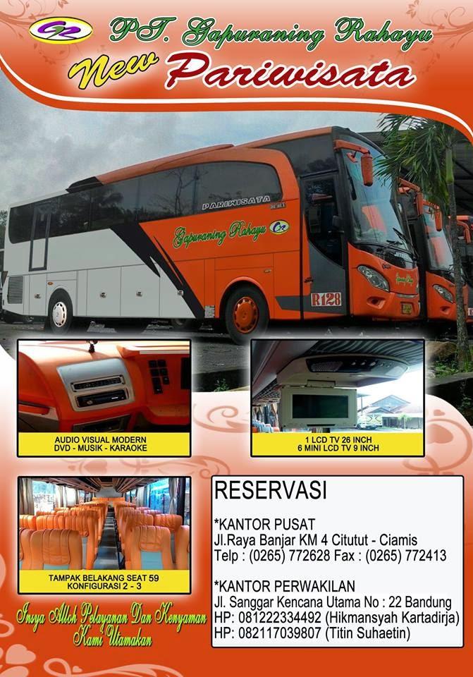Persewaan Bus Pariwisata di Kota Bandung