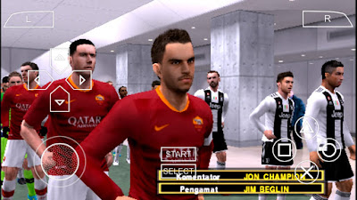 PES 2019 PPSSPP Jogress iso file