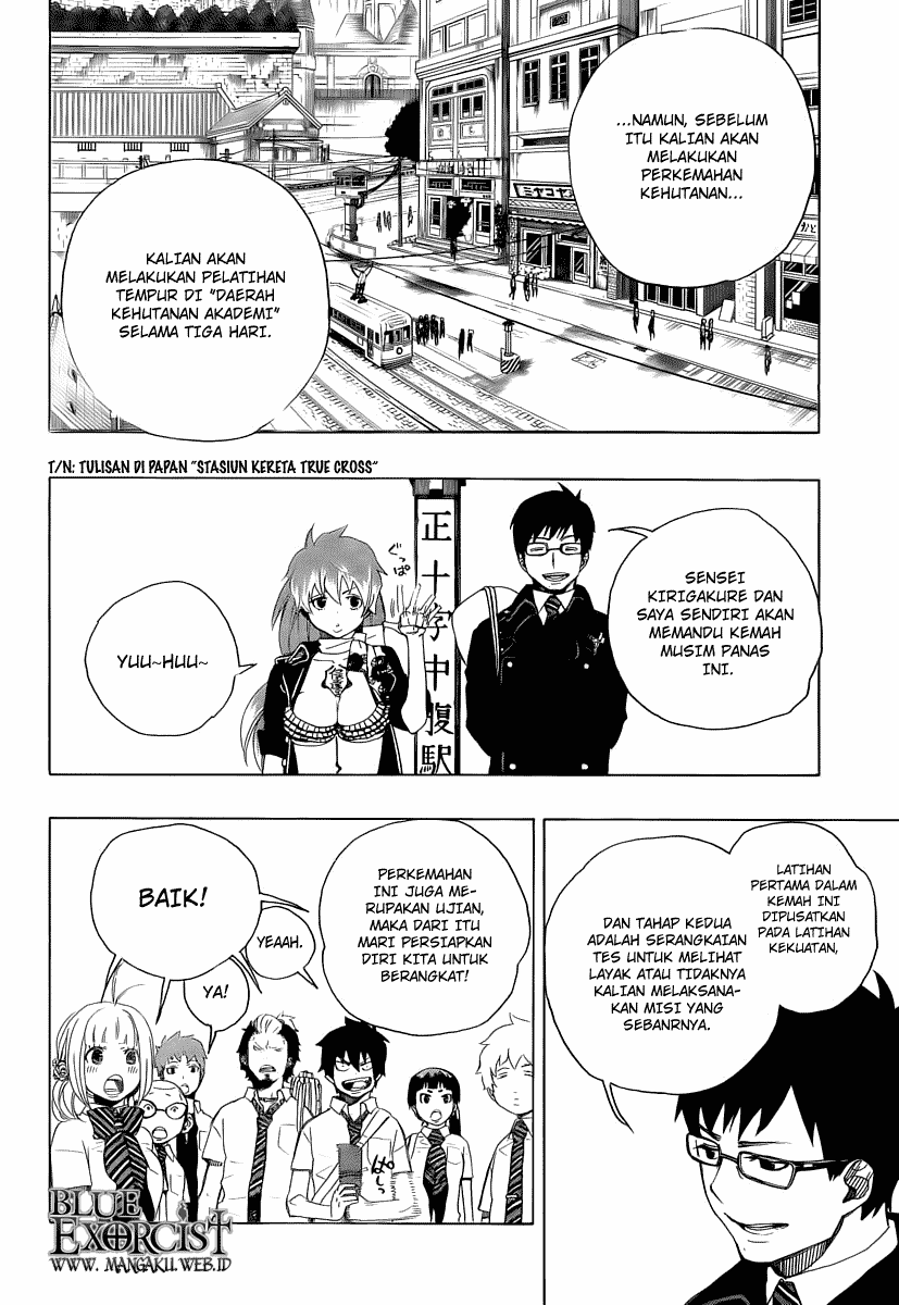 Ao no Exorcist Chapter 11-16