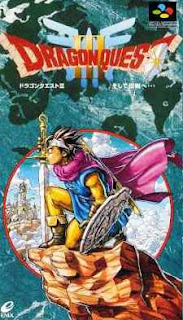 Carátula de Dragon Quest III para Super Famicom 1996, Enix