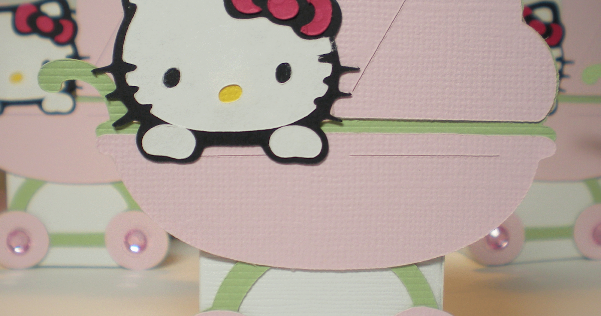 land of encraftment hello kitty baby shower favors. Black Bedroom Furniture Sets. Home Design Ideas