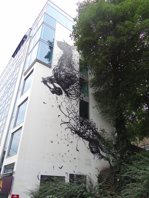 Street Art Pieces By DALeast For Nuart Urban Art Festival In Norway. 3