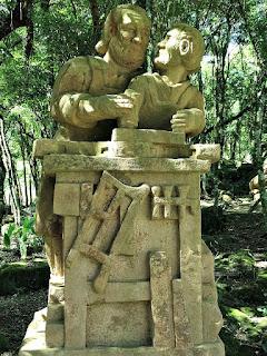 Zimmermann (Carpinteiro), Profissões dos Imigrantes Alemães no Parque Pedras do Silêncio, Nova Petrópolis