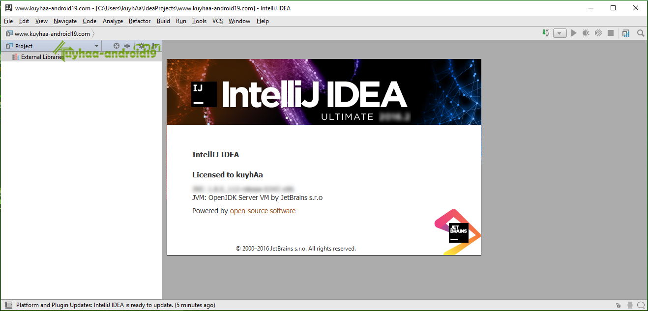IntelliJ IDEA Ultimate