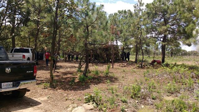 Reportan un muerto y cinco detenidos tras enfrentamiento en campamento del CJNG